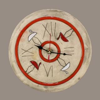 Две птици 012 Часовник