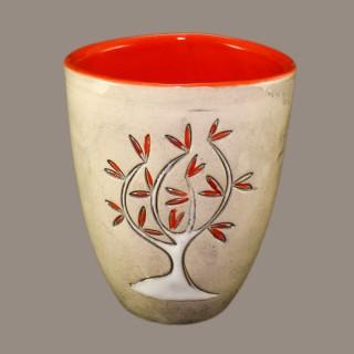 Дървото с червените листа  - чаша тип камбанка