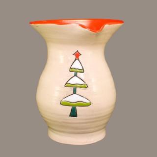""""""" Коледна елха"""" Модел 2 Кана за вино"""