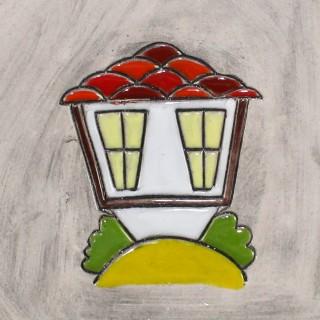 Стара българска къща - модел 1 - чаша тип камбанка