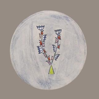 Цвете - чиния размер S - модел 2
