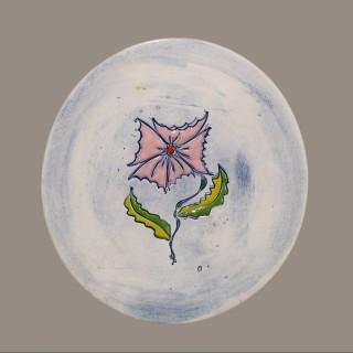 Цвете - чиния размер S - модел 7