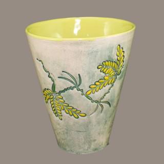 Acacia branch cone mug