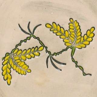 Acacia branch - plate size S