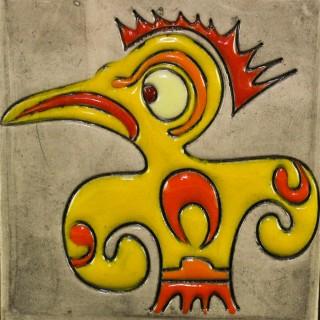 Angry chicken - mug bell