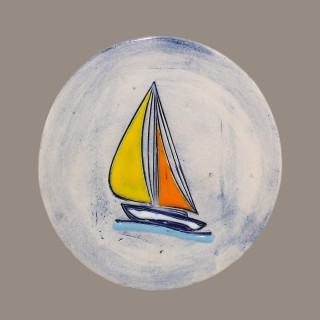 Boat - plate size S - model 1