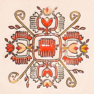 Bulgarian embroidery 1 - cone mug