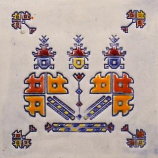 Bulgarian embroidery 4 mug bell