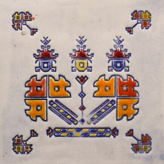 Bulgarian embroidery 4  - plate size S