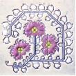 Bulgarian embroidery 5 mug bell