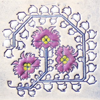 Bulgarian embroidery 5 - plate size S