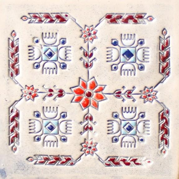 Bulgarian embroidery 6 mug bell