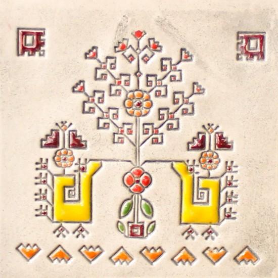Bulgarian embroidery 7 - cone mug