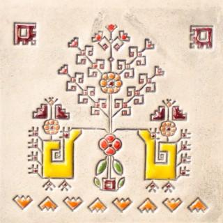 Bulgarian embroidery 7 mug bell