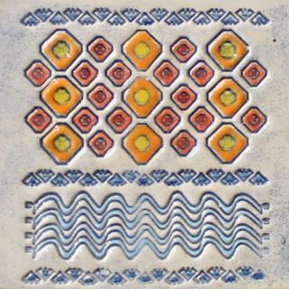 Bulgarian embroidery 8 mug bell
