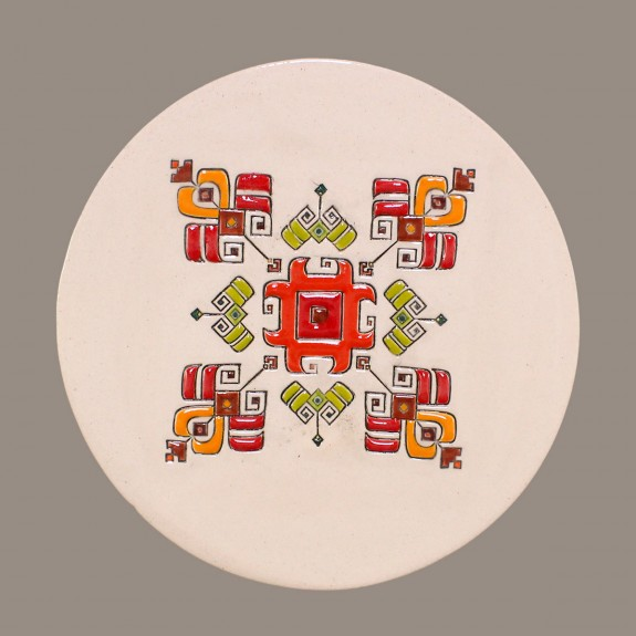BULGARIAN EMBROIDERY Model 2 PLATE SIZE L