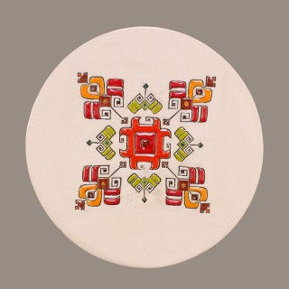 BULGARIAN EMBROIDERY PLATE MODEL 2 SIZE L