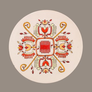 Bulgarian Embroidery Plate Size M