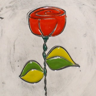 Bulgarian Rose - cone mug