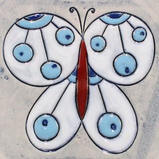 Butterfly - model 3 - plate size S