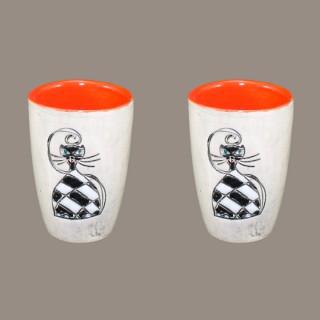 Cat 075 Модел 5 - Ceramic shot - Set