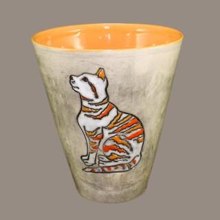 Cat model 6 cone mug