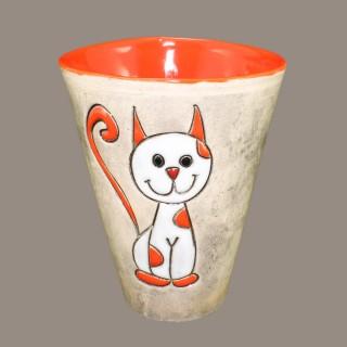 Cat model 7 cone mug