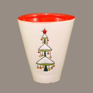 Christmas Tree Model 1 Cone Mug