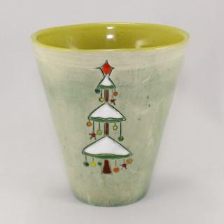 Christmas tree - model 1- cone mug Mugs