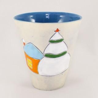 Christmas tree - model 3- cone mug Mugs