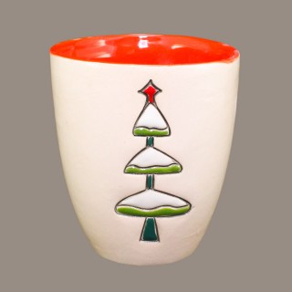 """ Christmas tree"" Mug Type Bell"