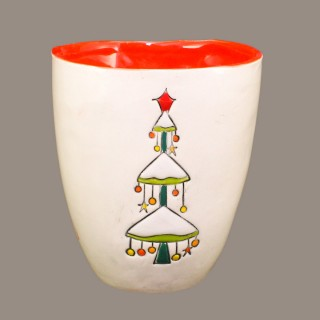 """Christmas tree"" Mug type Bell"