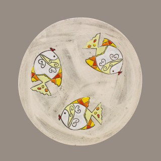 Fish Model 2 Plate Size M