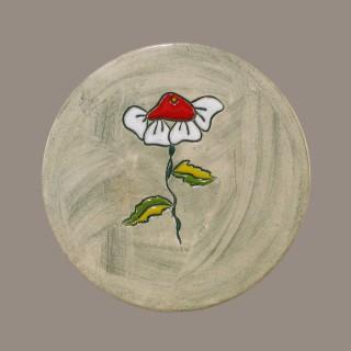 Flower - plate size s - model 1