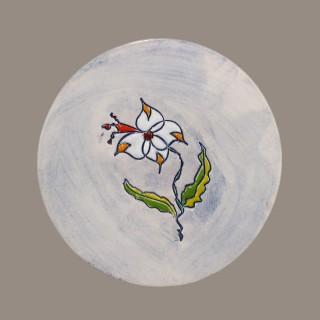 Flower - plate size s - model 3