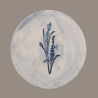 Flower - plate size S - model 8