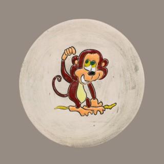 Funky Monkey - plate size S