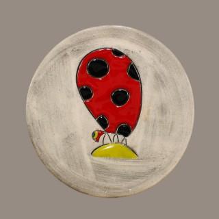 Ladybird - plate size S