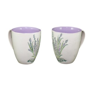 "Lavander LC2 -mug type ""bell"". - Set"