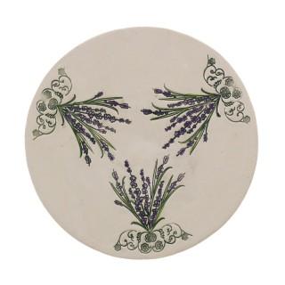 Lavender Plate Size L