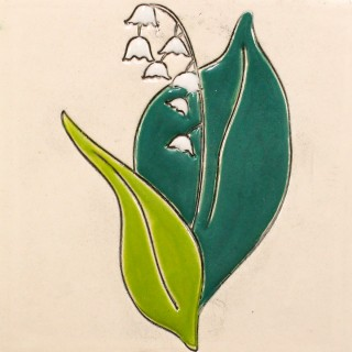 Lily of the valley - plate size S