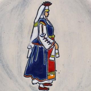 Maiden With Blue Garb - big shot