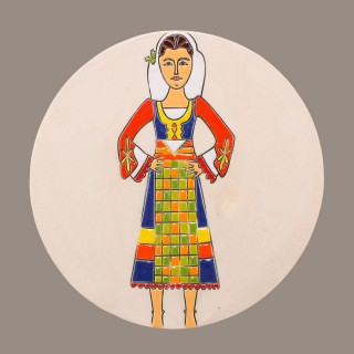 Maiden with Bulgarian Garb Model 3