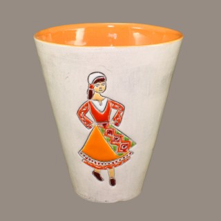 Maiden with orange garb Mugs