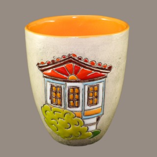 Mug Old Bulgarian House model 3