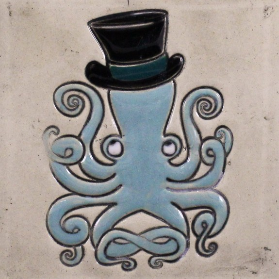 Octopus mug bell