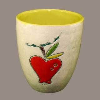 Red Apple Mug Cups