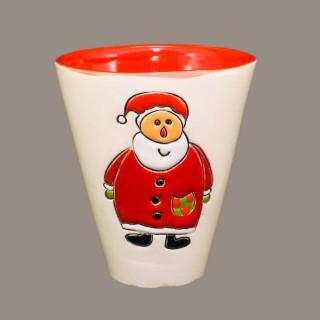 """ Santa Claus"" Cone Mug"