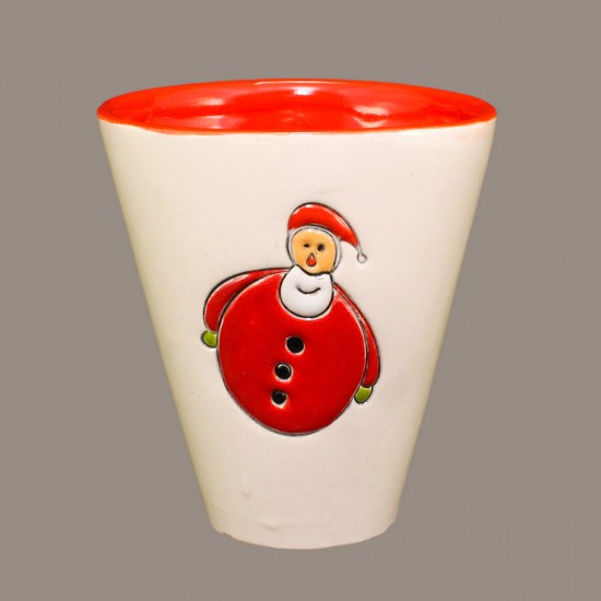 Santa Claus Model 2 Cone Mug