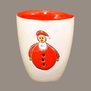 """ Santa Claus "" Model 2 Mug Type Bell"